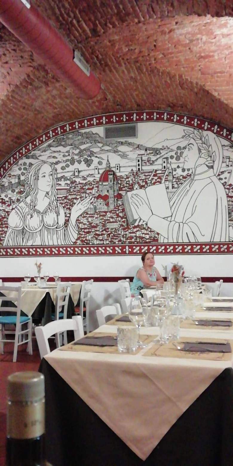 io, Beatrice e Dante a Firenze